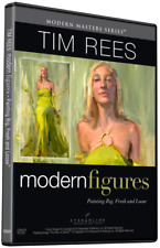 TIM REES: MODERN FIGURES: PAINTING BIG, FRESH AND LOOSE- ART INSTRUCTION DVD
