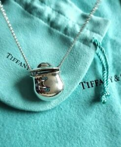 "Tiffany & Co, Elsa Peretti ""INRO"" bottle pendant on 24inch chain"