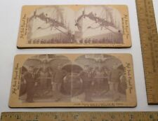 ..A.1301-1302 - WWI & Figure Head of Victory - 2 STEREOVIEWS © 1903 - CANVASSERS