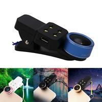 4 in 1 Fish Eye+Wide Angle+Macro Clip On Camera Lens Kit for Mobile Phone Tablet