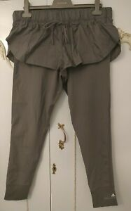 Stella McCartney Adidas Grey Layered Sports Running Short Tights BNWT Size L