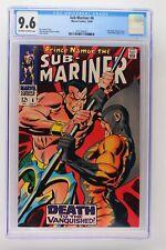 Sub-Mariner #6 - Marvel 1968 CGC 9.6 Tiger Shark, Doctor Dorcas and Destiny appe