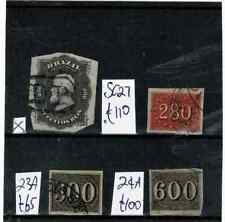 V179 Brazil early values on card c£275 (4)