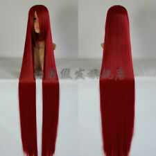 NEW Popular New Extra Long Dark red Cosplay Wig - 60 inch High Temp 150cm