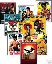 Bruce Lee Film Poster Trading Card Set