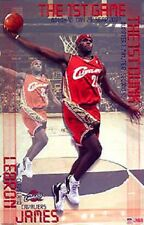 2003 Lebron James Cleveland Cavs 1st Dunk Original Starline Poster OOP