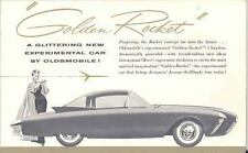 1956 Oldsmobile Golden Rocket Experimental Brochure 111708-BAFPOJ