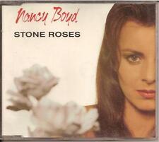 NANCY BOYD - stone roses MAXI-CD 2TR Europop 1992 HOLLAND RARE!