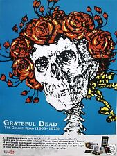 "GRATEFUL DEAD ""THE GOLDEN ROAD (1965-1973)"" U.S. PROMO POSTER - Skull With Roses"