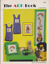 Graph Menagerie Book #9 THE ARK BOOK in Counted Cross Stitch 1980 Rainbows