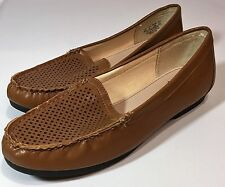 Womens Shoes 8 M Life Stride Excite Flats Camel Brown New