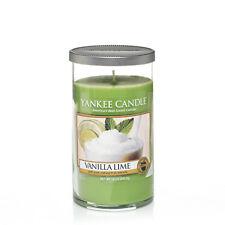 Yankee Candle Vanilla Lime Scented Medium Pillar