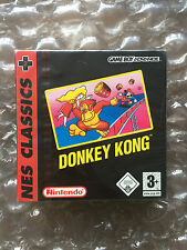 BRAND NEW FACTORY SEALED DONKEY KONG NES CLASSICS FOR NINTENDO GAMEBOY ADVANCE