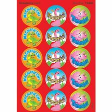 Dino Fun/Strawberry Stinky Stickers® – Large Round Trend Enterprises Inc. T-6406