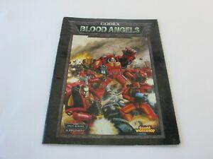 Games Workshop Warhammer 40K Codex Blood Angels Space Marines Supplement Book