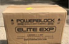 "Powerblock Elite EXP 5-50 lbs Adjustable Dumbbell 2020 Model ""SINGLE"""