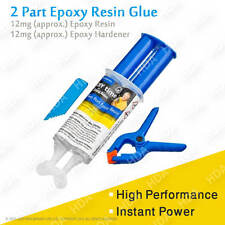 2 Part Epoxy Resin Glue Strong Adhesive Quick Extra Tough Metal Plastic Hardener