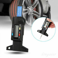 Car Tester Brake Shoe Pad Motorbike Tools Digital Tyre Depth Gauge Tread Checker
