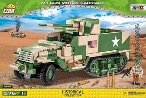 COBI  M3 Gun Motor Carriage   / 2535 / 576 blocks WWII US Army  transporter