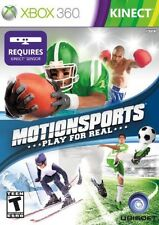Motionsports Play For Real (Microsoft XBox 360) Brand New Sealed Free Shipping