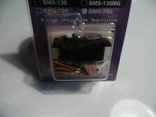 Blue Bird BMS-706 Low Profile Servo 4,6 Kg / 4.8 V - 0.13  Sec / 60 °