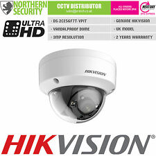 HIKVISION 3MP 1080P TURBO HD-TVI 2.8MM DOME EXIR IR OUTDOOR CCTV SECURITY CAMERA