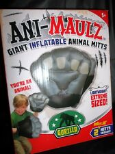 "Ani-Maulz 14"" Giant Lightweight Inflatable Animal Mitts-2 Mitts-Gorilla"