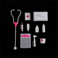 1Set Doll Accessory Pretend Medical Toy Nurse Doctor Tool Instruments  WA