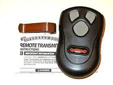 Overhead Door Remote works with Intellicode Genie and Overhead Door