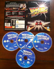 BACK TO THE FUTURE - 4 DISC ULTIMATE COLLECTION - DVD - VOZ ORIGINAL -STEELBOOK
