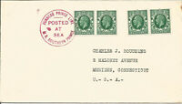 Maritime Mail Cover Posted On Board MS Southern Prince 1936 Posted At Sea U674
