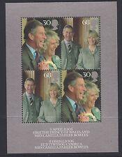 Great Britain 2005 Royal Wedding Prince Charles & Camilla Parker Bowles Set MUH