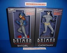 Batman Animated Series Batgirl & Catwoman Femme Fatales Statues Diamond Select