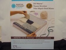 NEW Martha Stewart Martha Stewart DIY Weaver Starter Kit 171 PIECES