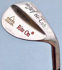 4th Wedge 64* Degree Soft Hi-Lob American Open 30 Yards or Less Steel LW Rite On