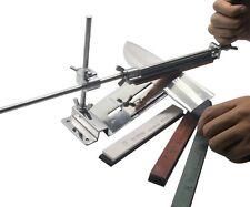 Kitchen Tool Sharpening Stone Scissor Knife Blade Sharpener + 4 Stone Fix-angle