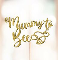 Personalised Baby Shower Cake Topper Decorations Mummy to bee Baby Shower P1414