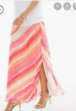 New listing Chicos Sunset Striped Maxi Skirt Anthropologie Boden Size Small Sundance Kid