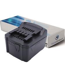 Batterie 14.4V 3000mAh pour Metabo SSW 14.4 LT 6.02126.50 - Société Française -