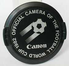 Canon 52mm 1982 World Cup lens cap.