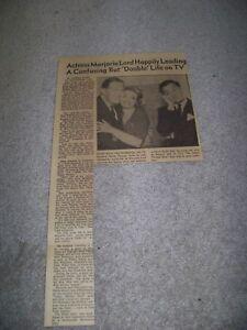 November 24 1963 The Roanoke Times Marjorie Lord Danny Thomas Randy Hale