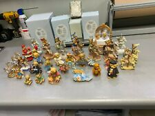 Cherished Teddies lot, 28 piece with extra horses.