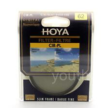 Hoya 62mm CPL CIR-PL Slim Circular Polarizing Digital Filter for Camera Lenses