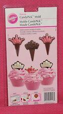 Princess Chocolate Mold, Cupcake Picks,Wilton,2115-2101, Plastic, Clear