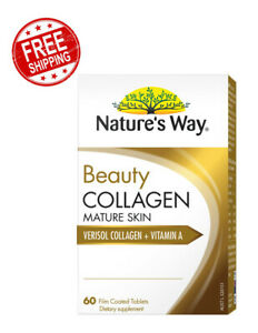 Nature's Way Beauty Collagen Mature Skin Care Vitamins 60 Tablets