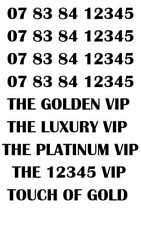 GOLD LUXURY VIP PLATINUM RARE 12345 BUSINESS MOBILE NUMBER - 12345 LUXURY