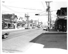 BB300A RP 1970 WESTVILLE NJ BROADWAY LOOKING NORTH FROM FIREHOUSE