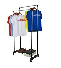 SUPREME- DOUBLE POLE TELESCOPIC CLOTH DRYING STAND RACK