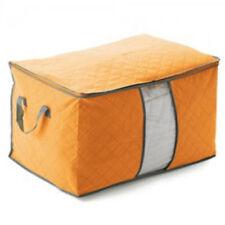 1XFoldable Storage Bag home Clothes/Quilt Blanket reusable Organizer Box Pouches