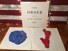 New Order Substance Double Record Album 1987 • LP Vinyl • E/VG+